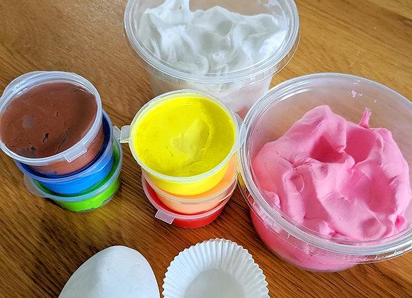 חבילת קליי עם 10 צבעים