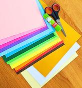 ערכה ליצירות עם נייר צבעוני