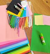 ערכת נייר צבעוני