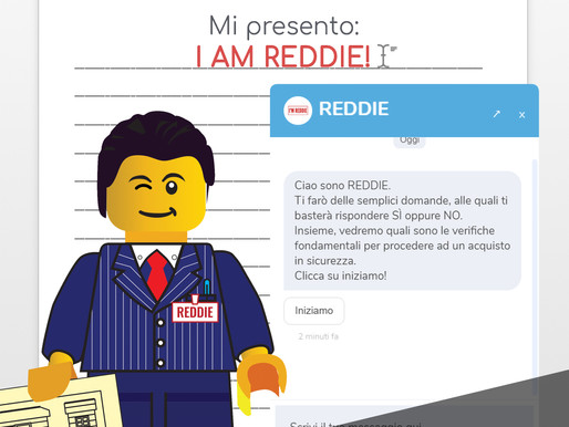 Mi presento: I'M REDDIE!
