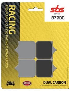 """Plaquettes """"Piste""""  SBS 870DC - S1000RR"""