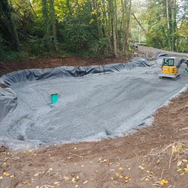 Heron Drive Treatment Pond