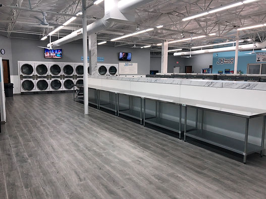 Dallas J&J wash and dry laundromat and laundry service bundle wash