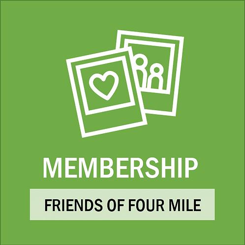 Friends of Four Mile Membership 2021-2022