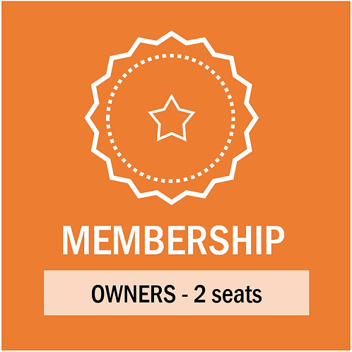 Annual Dues Residents / Owners - 2 seats