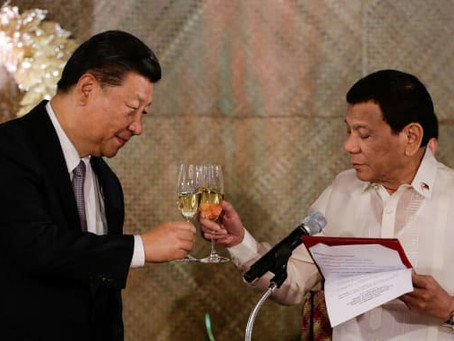 Duterte might Hurt China's Feelings,assures Xi & Pushed Stronger Ties w/ China