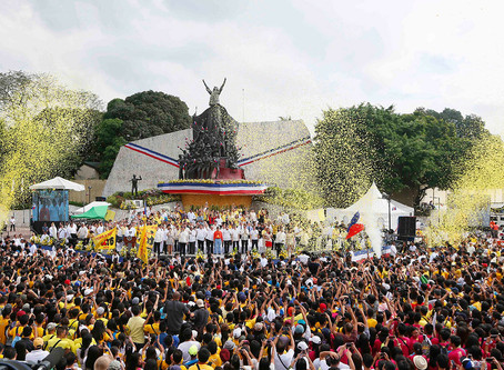EDSA not about 'yellows' but fight for democracy: Reliving Edsa spirit challenge to millennials