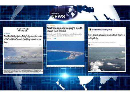 United States, Australia, France & Britain Challenges & Rejects China Claims In South China Sea