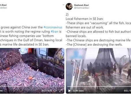Warning to PH: China Overfishing in Iran Left Local Fishermen & Marine Life Devastated