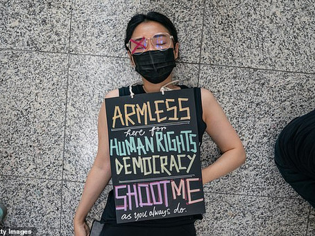 Pro-democracy Hong Kong Human Rights activists tagged as terrorists by Communist China-THE TIMES UK