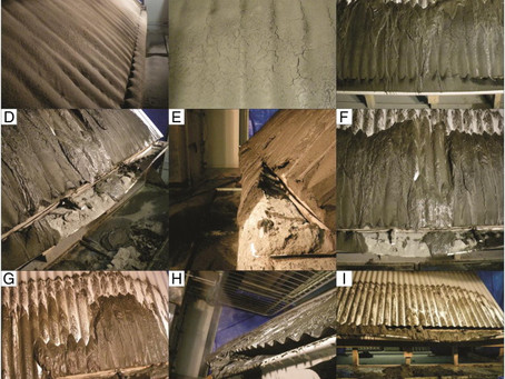 Clear your Roof from accumulating ashfall or It may collapse due to the ashfall weight and density