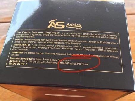 Hair Product Ashley Shine Slammed For Claiming Manila Is Part Of China