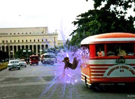 LOOK! An Artist showed a Time Traveler Traveling in OLD MANILA (click to see more photos)