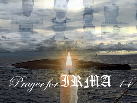 Share a prayer for 14 Filipino Fishermen who lost their lives at Sea.