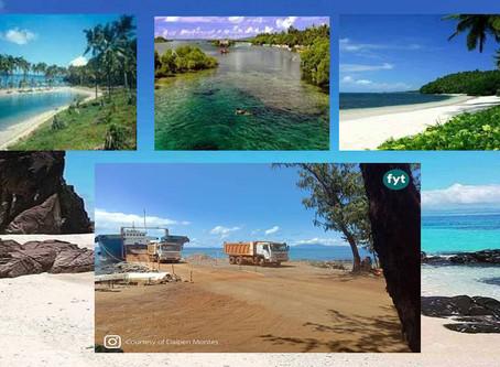 Ito ang paraisong Isla ng Homonhon, Guiuan Eastern Samar na kasalukuyang sinisira ng Minahan-Efren