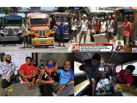 90% Jeepney & Bus Drivers Hungry, Starving, Some Homeless After evicted,Now Begging-Transport Group