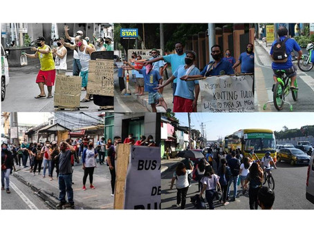 Duterte urges public: 'Sanayin natin 'yung buhay ngayon'