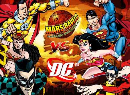 Mars Ravelo Superheroes VS. DC Comics Superheroes