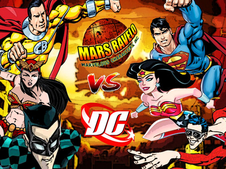 Mars Ravelo Superheroes VS. DC Comics Superheroes