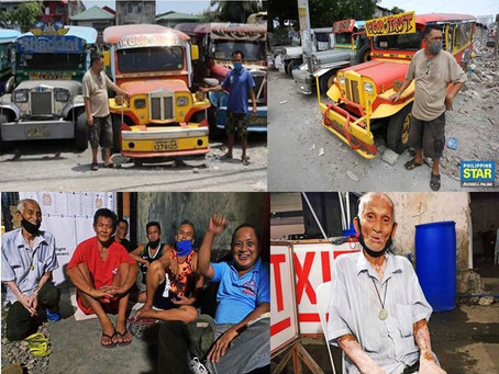 Prohibited to Operate due to Pandemic,Jeepney Phaseout to Push this Year-2020