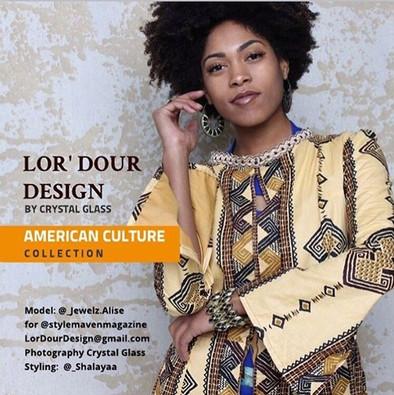 Designer: @LorDourDesign  Photographer: Crystal Glass @LorDourDesign Stylist: @_Shalayaa