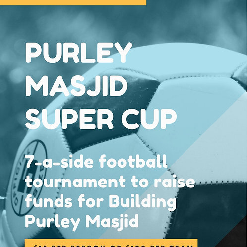 Play for Purley - Individual Entry