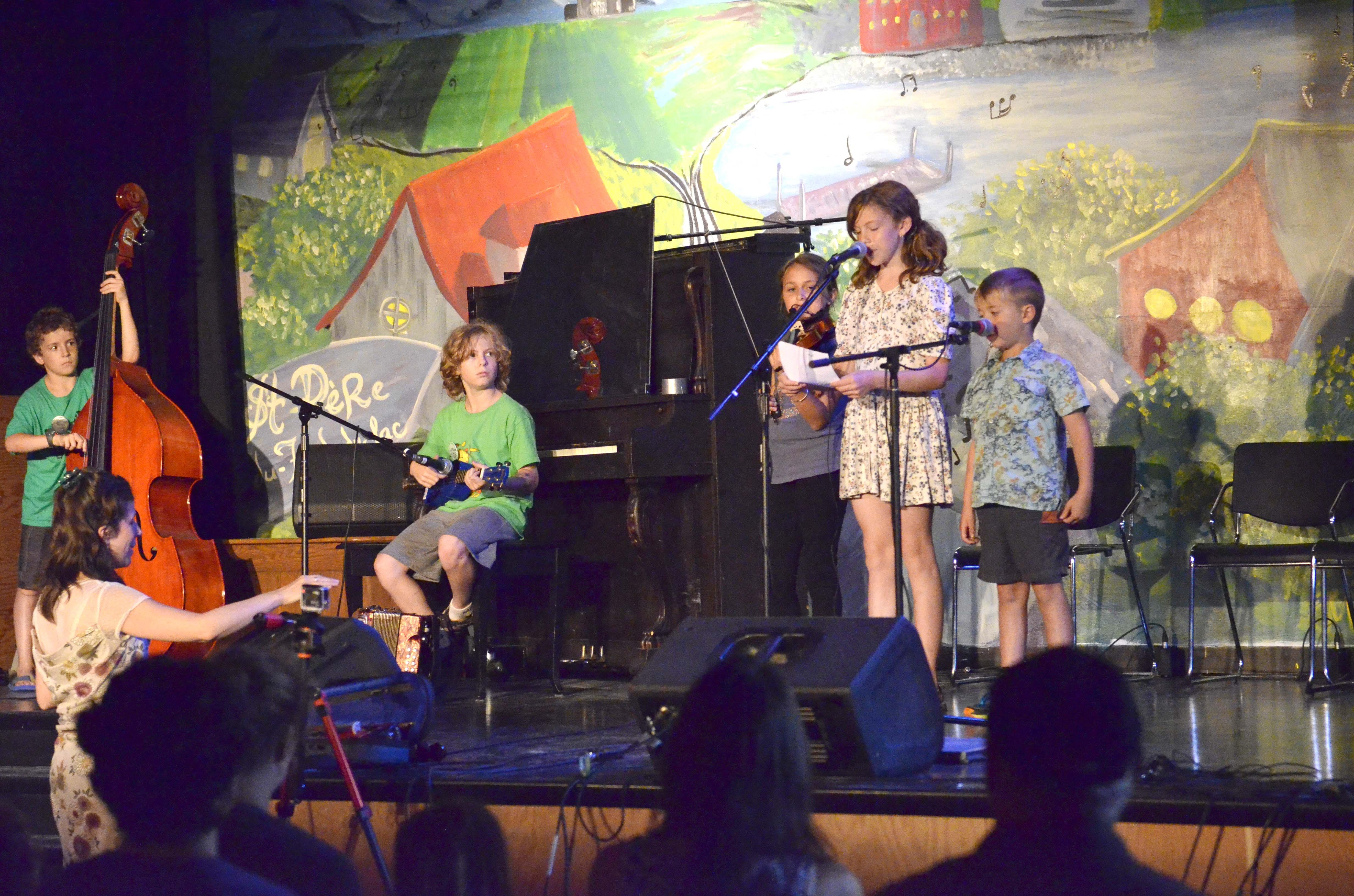 jeunes-concert de groupe