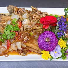 Whole Fish--3 Flavored Sauce