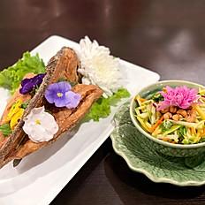 Whole Fish-with Mango Salad
