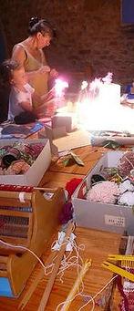 Pendant trois ans, j'ai animé un atelier pour enfants dans mon village à Jarnioux, par le biais d'une association : Créa-récup.