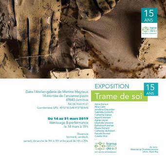 exposition 15 ans_Trame de soi_Martine M