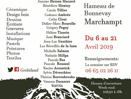 Expo à Marchampt en avril