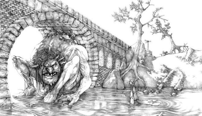 Peek Under the Bridge to Find the Trolls