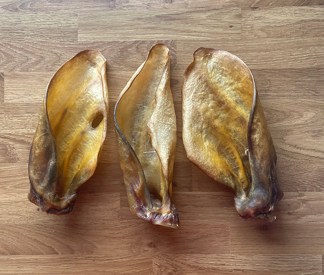 3 Large Cow Ears