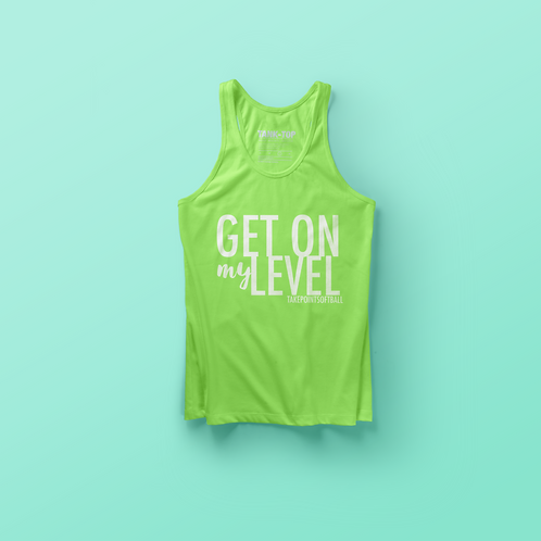 YOUTH LEVEL TANK - Green