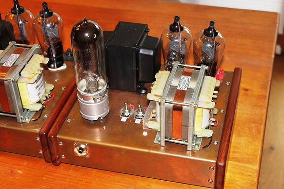 die zwei RGN1404 hinter dem Übertrager Röhrenverstärker-bauen-Selbstbau-Schaltplan beste-HiFi-DIY-Röhrenverstärker tube-amp-schematic-amplifier Best tube amplifier DIY