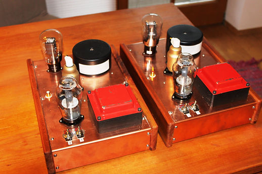 AD1 Monoblöcke mit CF7 und G2504-Röhrenverstärker-bauen-Selbstbau-Schaltplan  beste-HiFi-DIY-tube-amp-schematic-amplifier  RE604-RV239-300B-AD1  Best tube amplifier DIY