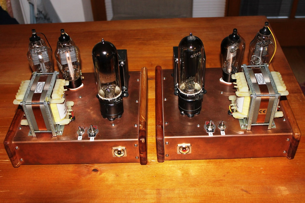 vorne die chincheingänge von der Treiberstufe-Röhrenverstärker-bauen-Selbstbau-Schaltplan  beste-HiFi-DIY-tube-amp-schematic-amplifier  RE604-RV239-300B-AD1  Best tube amplifier DIY