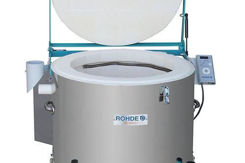 Rohde TE 100 MCC Plus + electric toploading kiln