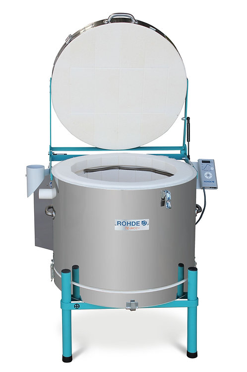 Rohde TE 100 MCC Plus + electric toploading kiln