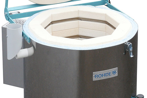 Rohde Ecotop 50 electric toploading kiln