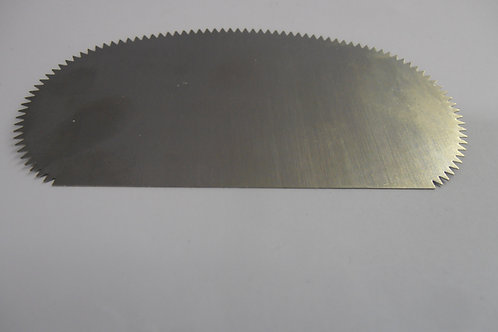 Medium Oval Serrated Steel Scraper - C611(2)
