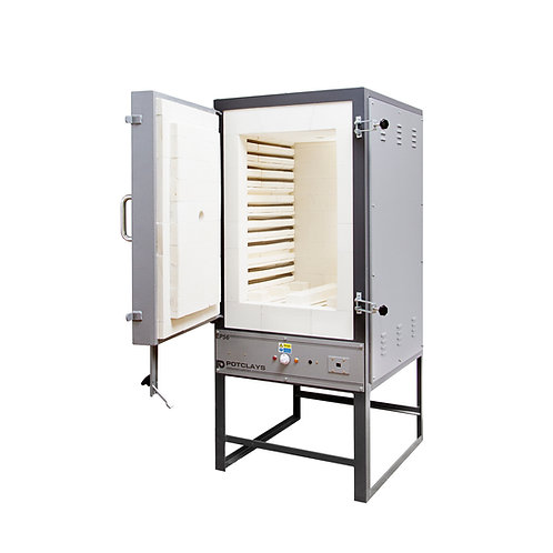 EP45 Front-loading kiln, complete with T/C & Hobbymaster 4 controller