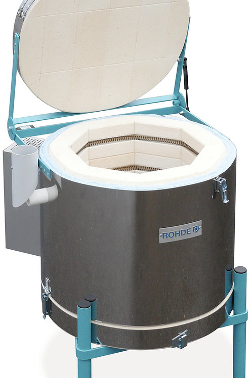 Rohde Ecotop 43 L electric toploading kiln 13Amp