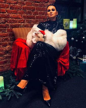 Юлия в вечернем платье от ателье Chiave - отзыв