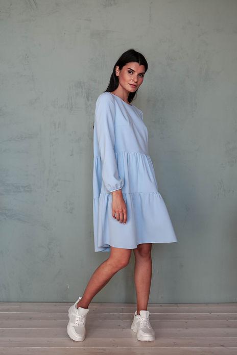 Платье с ярусами, пошив на заказ