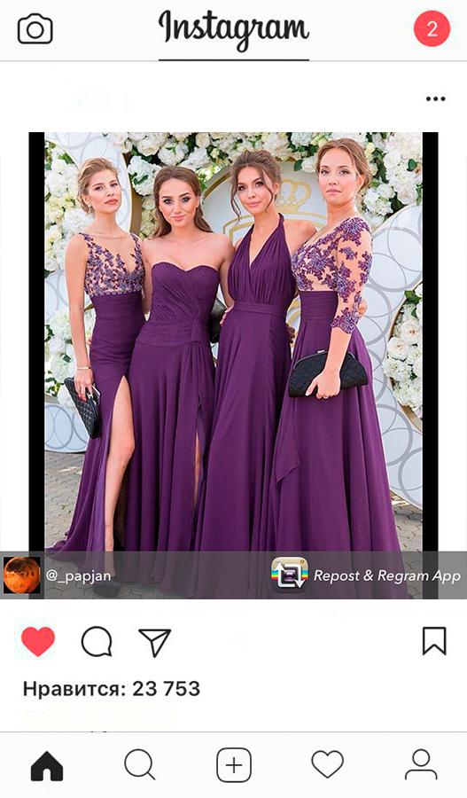Стильные вечерние платья на заказ