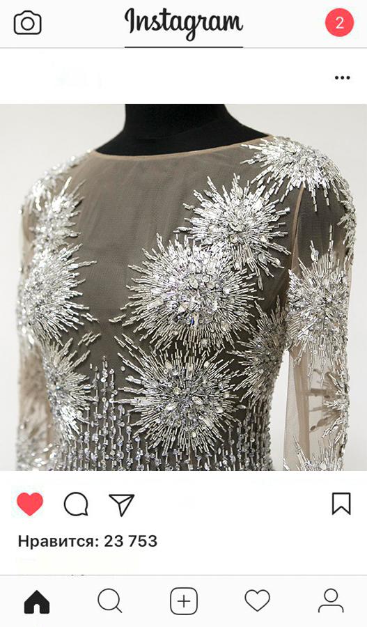 Индивидуальный пошив вечернее платье