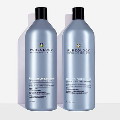 Strength Cure Blonde Shampoo and Conditioner Duo - 1000ml