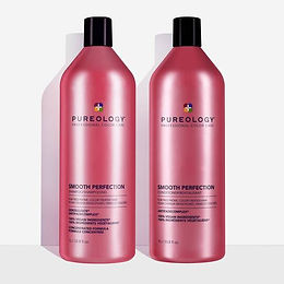 Smooth Perfection Anti-Frizz Shampoo and Conditioner Duo - 1000ml